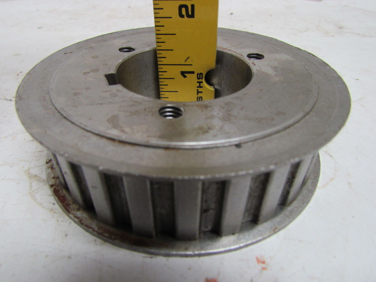 browning 26hp100 timing belt pulley 1 2 quot pitch 26 tooth 1