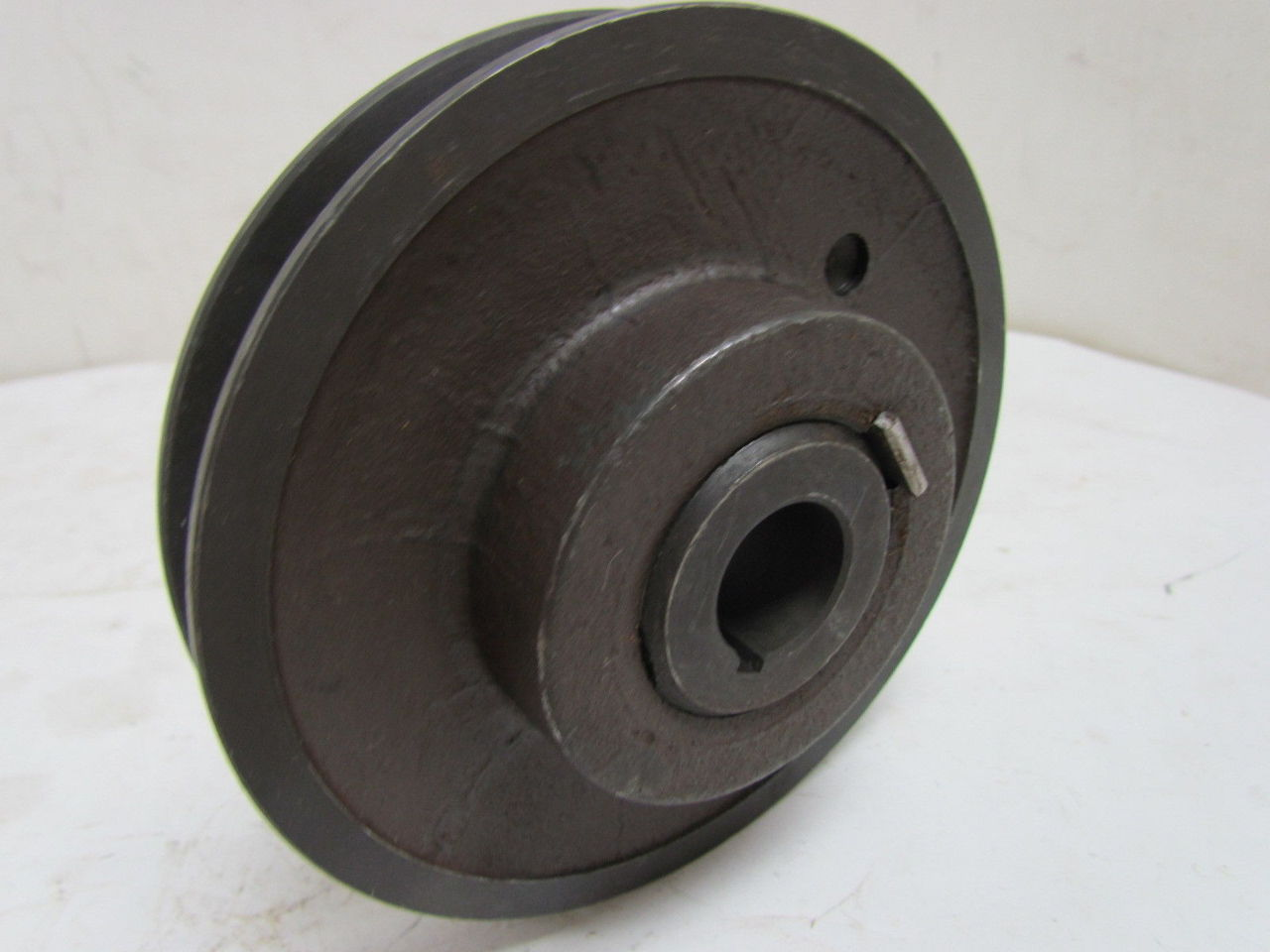 Adjustable Pulleys : Maurey lx single groove adjustable pitch variable pulley sheave quot bore