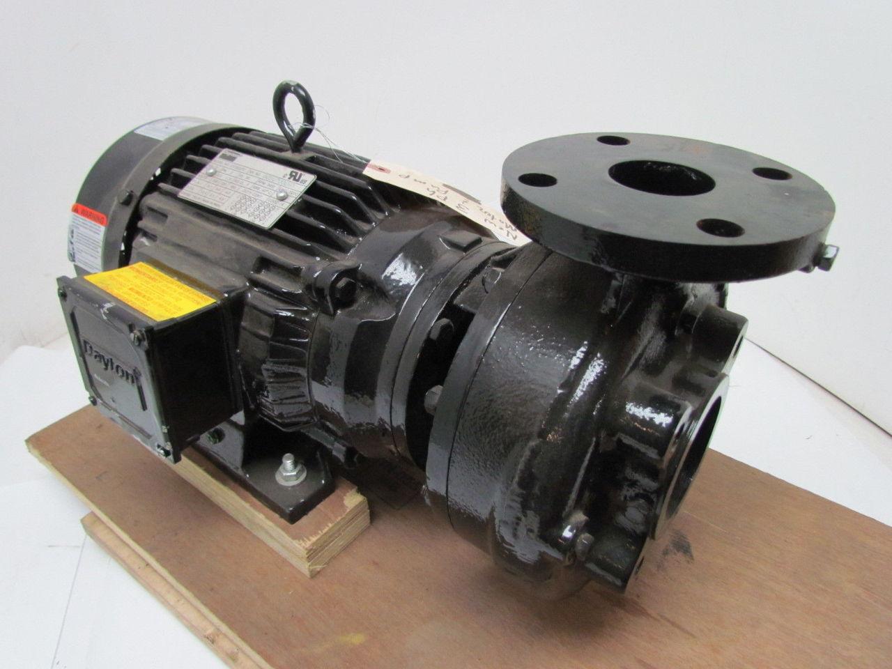 Dayton 4za38a Straight Centrifugal Pump Ltcg23tc Motor 3