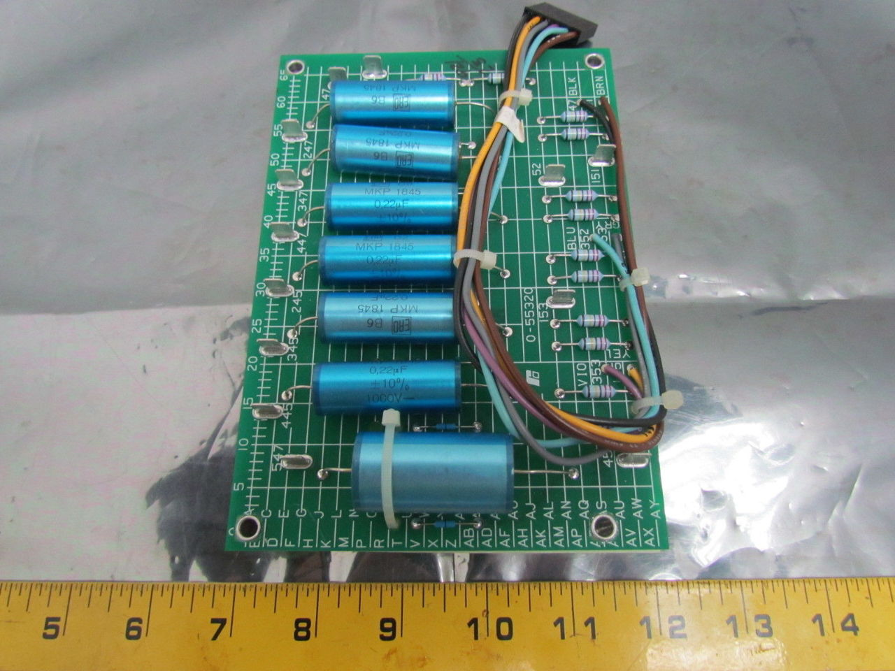 Capacitor Circuit Board Image Information Capacitorcircuit Reliance Electric 0 55