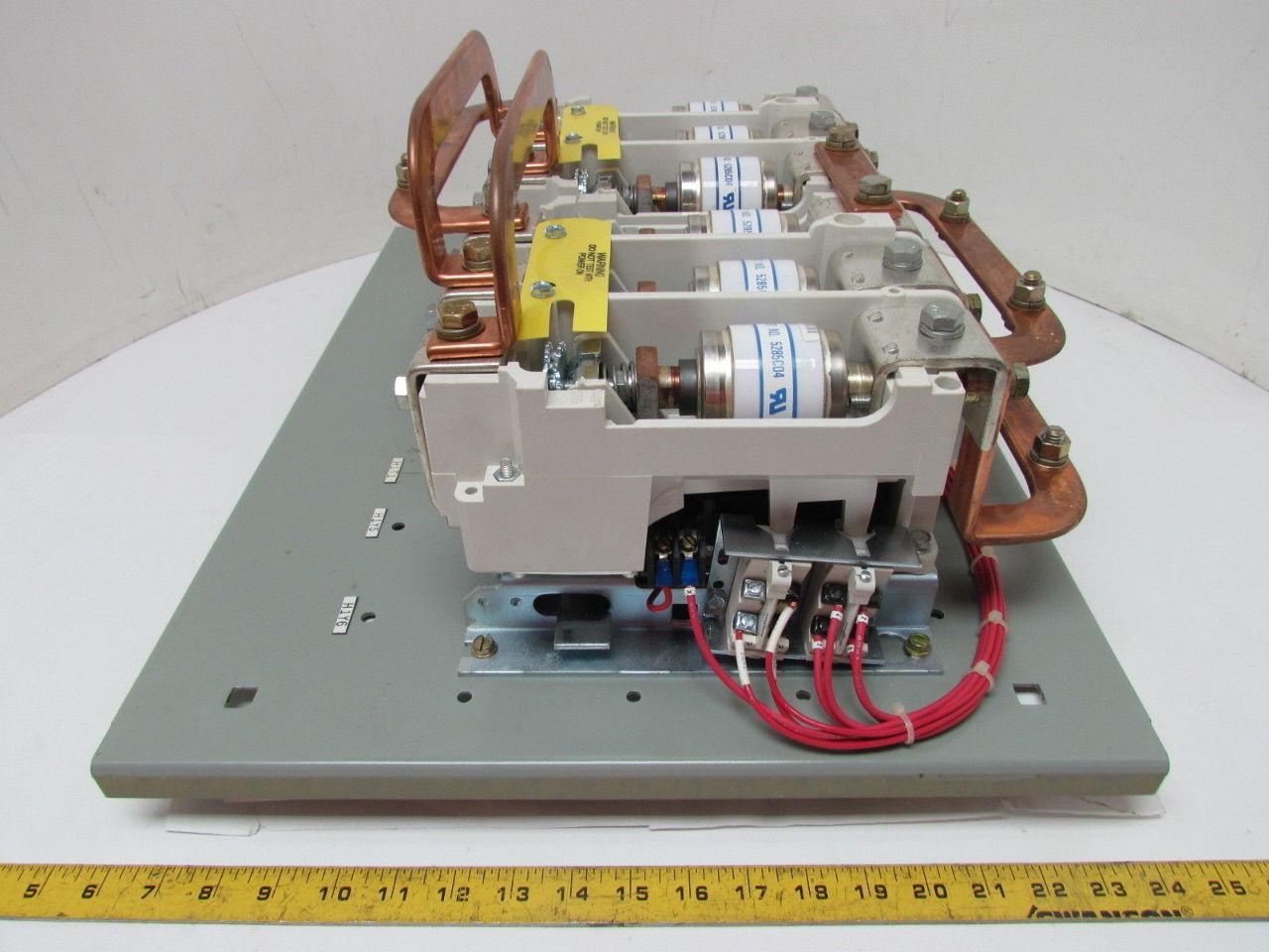 Westinghouse V211k5cjz1 Reversing Contactor Motor Control
