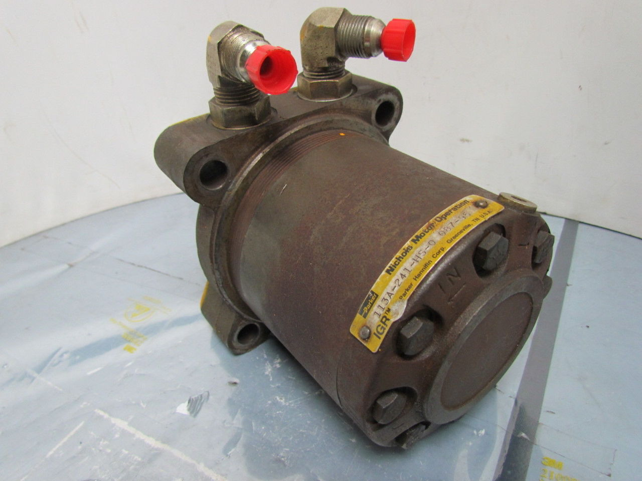 Parker 113a 241 Hs0 Low Speed High Torque Hydraulic Motor