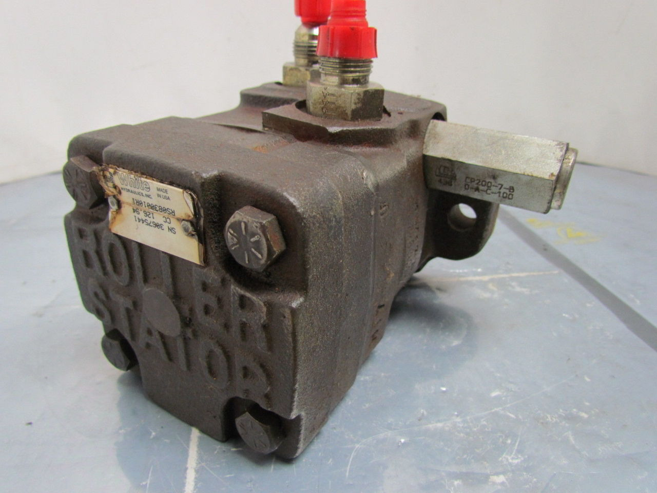 White Rs0830010r1 Cc Hydraulic Motor Roller Stator