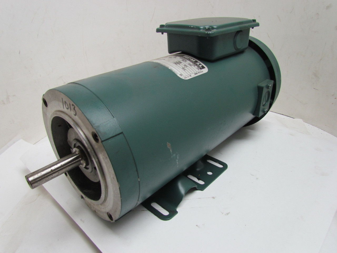 Reliance Electric 1 Hp 1750 Rpm 180v 56 Frame Tefc