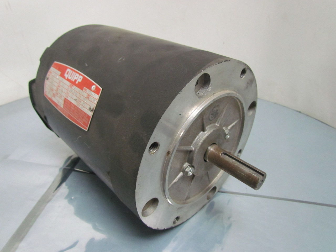 Leeson quipp 1 2hp 1725rpm 208 230 460 d56c for 56 frame motor shaft size
