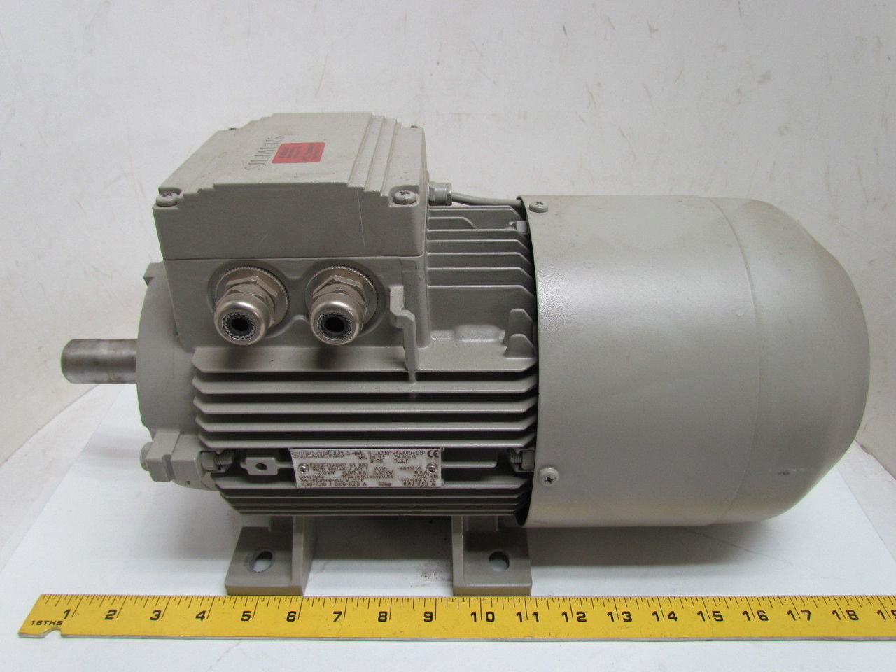 Siemens 1la7107 4aa60 Z 3kw 4 6hp Electric Motor Lenze