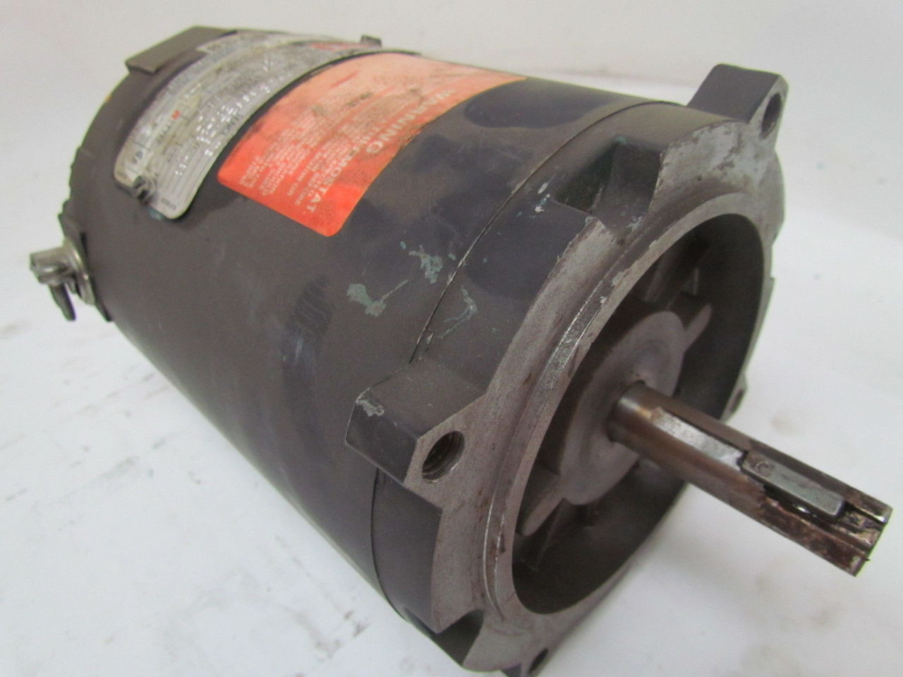 Reliance sxe energy efficient 1 4 hp 1730rpm 56c frame for Duty master ac motor