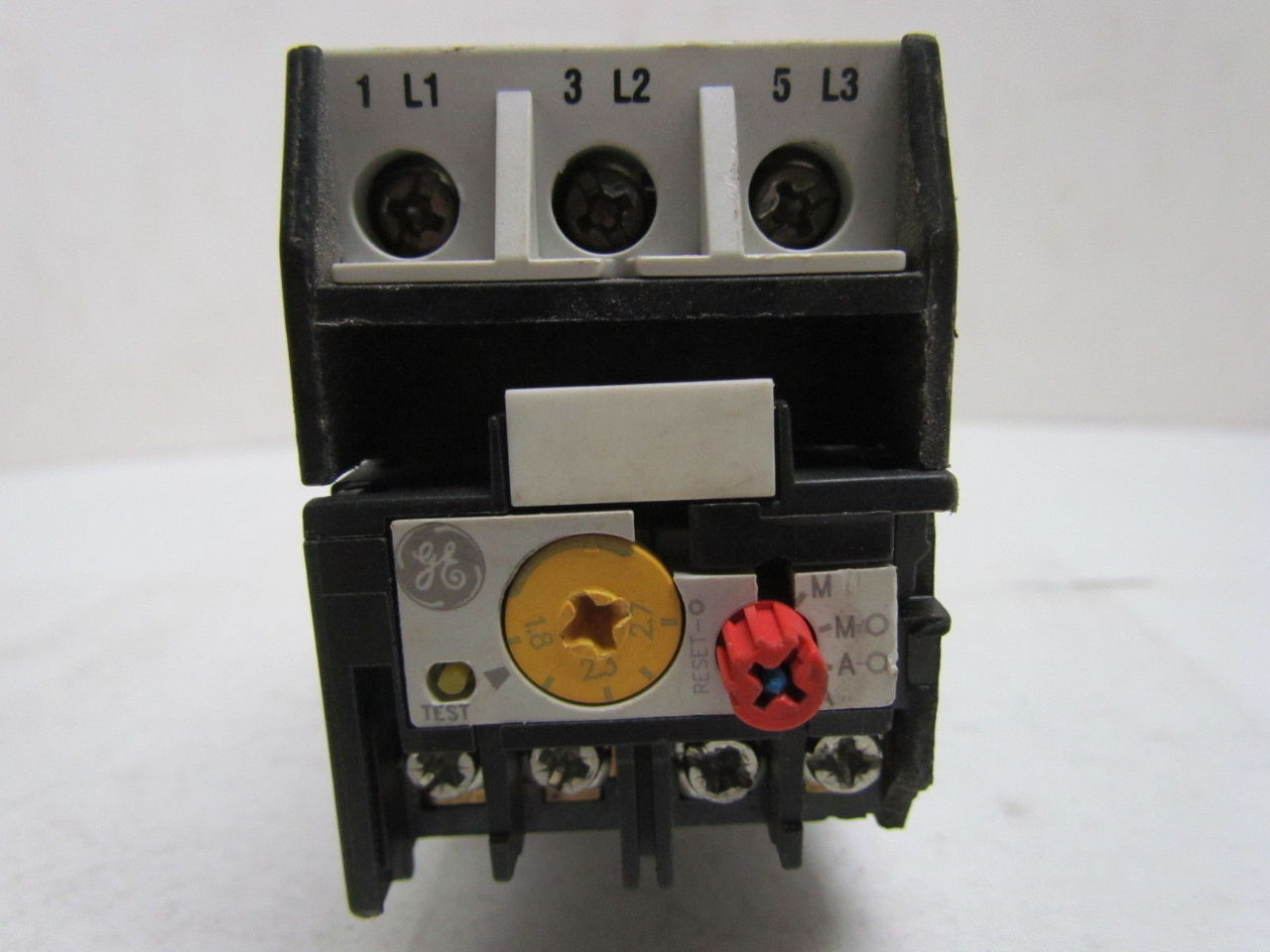 Ge General Electric Rt1j Cr7xy3 Overload Relay W Bracket