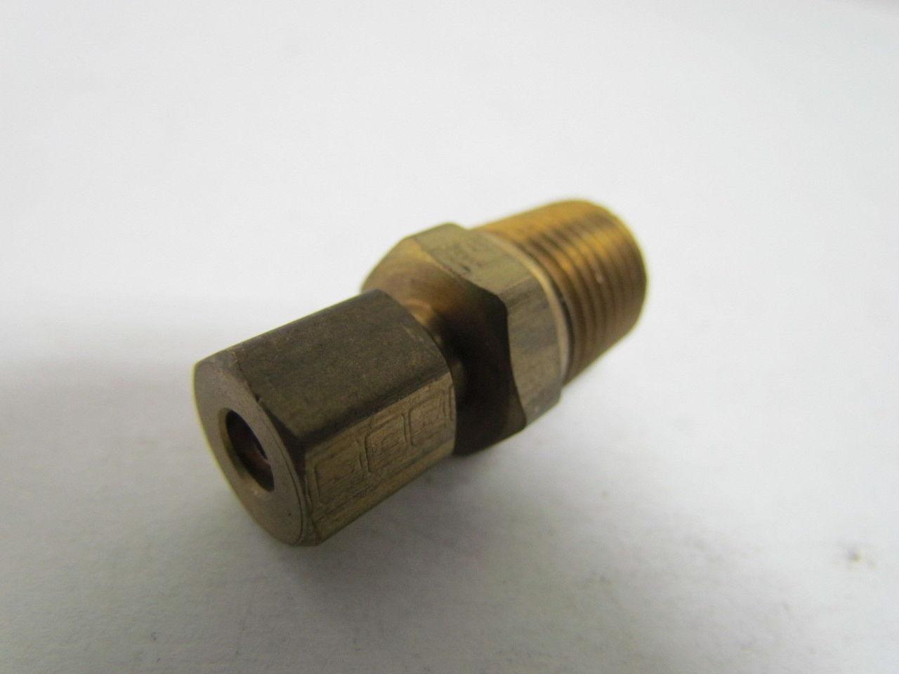 Parker triple lok c quot male connector brass