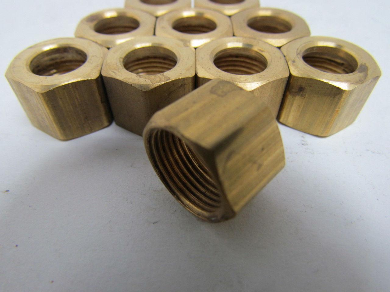 Parker triple lok c quot brass compression