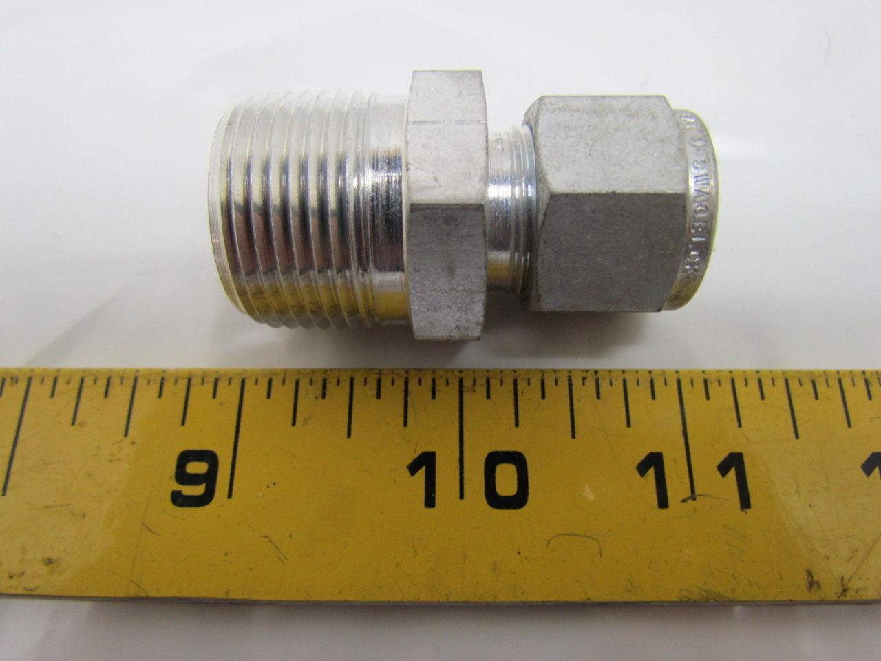 Swagelok s quot male npt connector tube