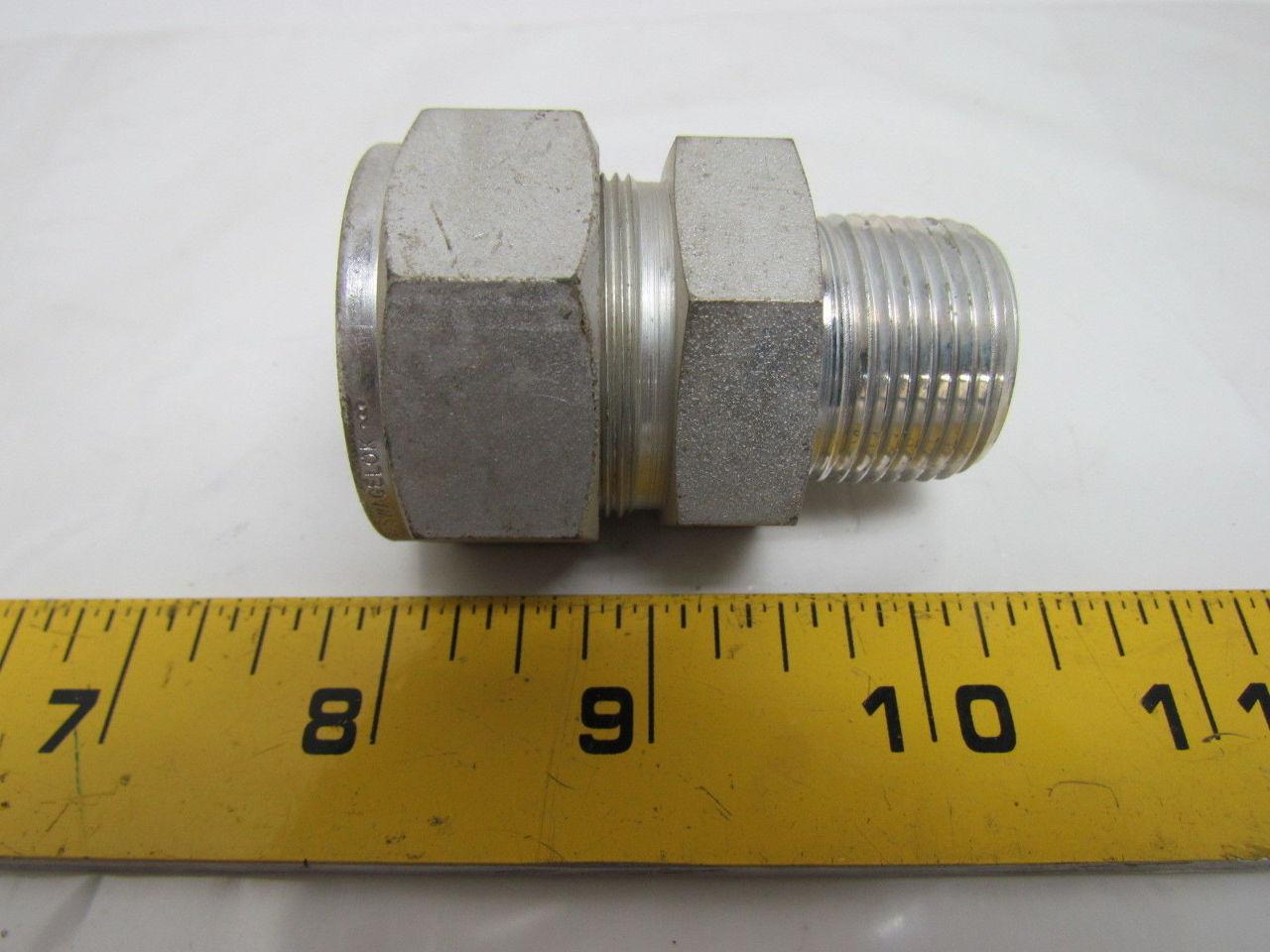Swagelok s quot x male npt connector tube