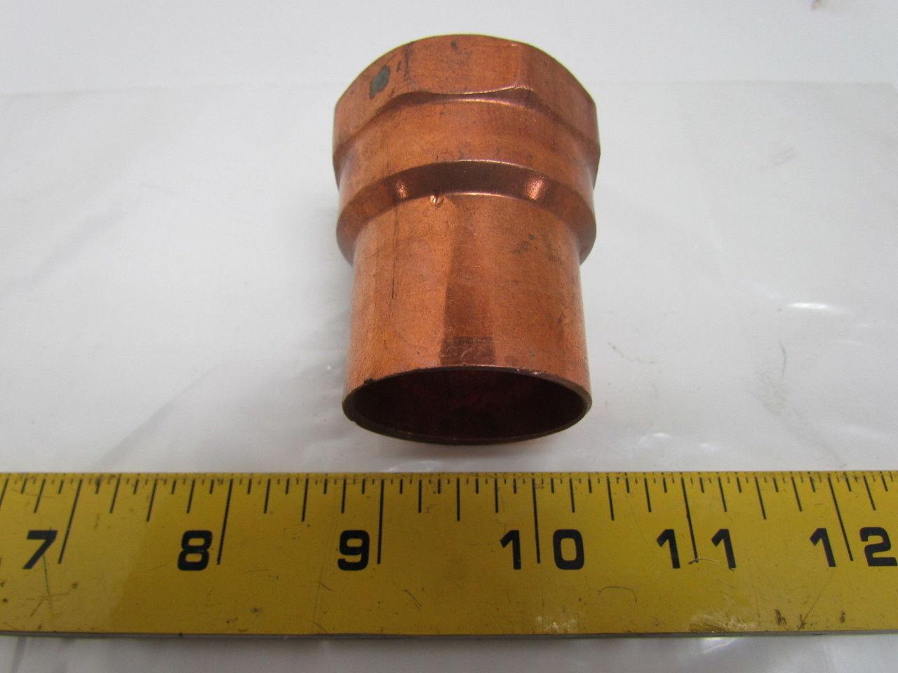Epc 46000 303 1 1 4 Quot Female Adaptor Wrot Copper Solder