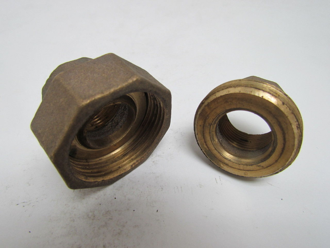 Flagg quot npt female union pipe fitting coupling cast bronze