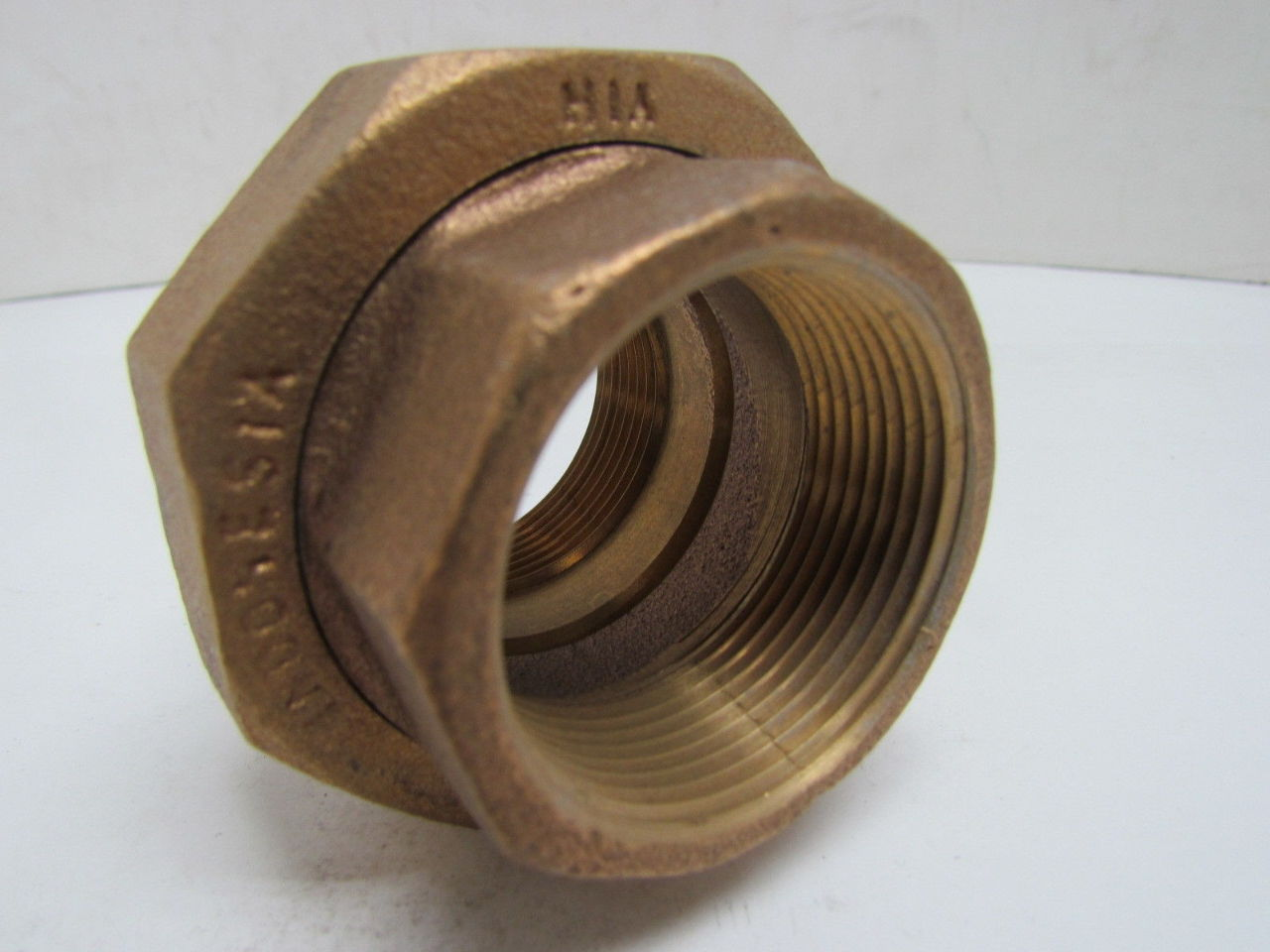 Yih quot npt female union pipe fitting coupling cast