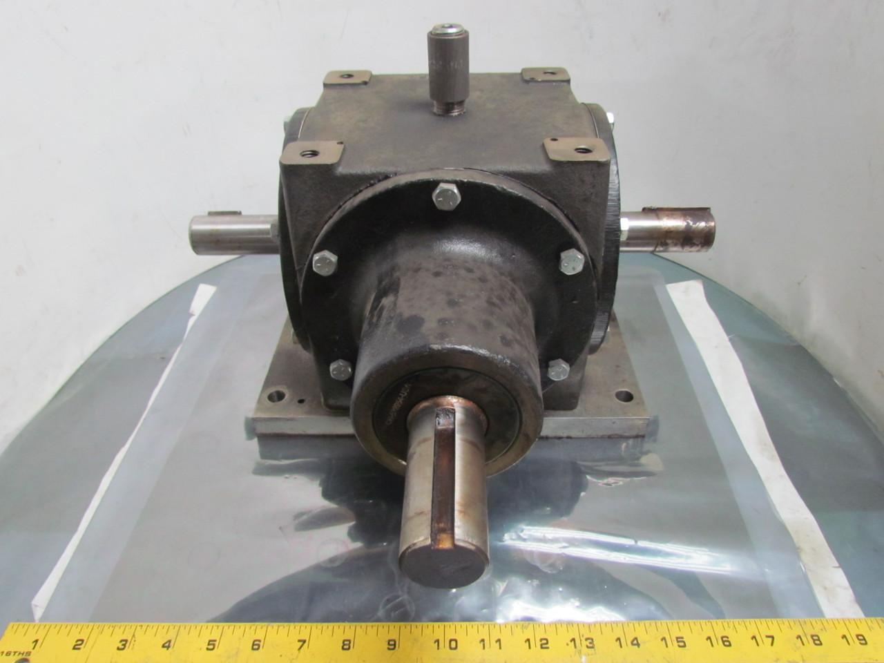Von ruden 110 382 type g 1 2 ratio bevel gear drive ebay for Von ruden hydraulic motor