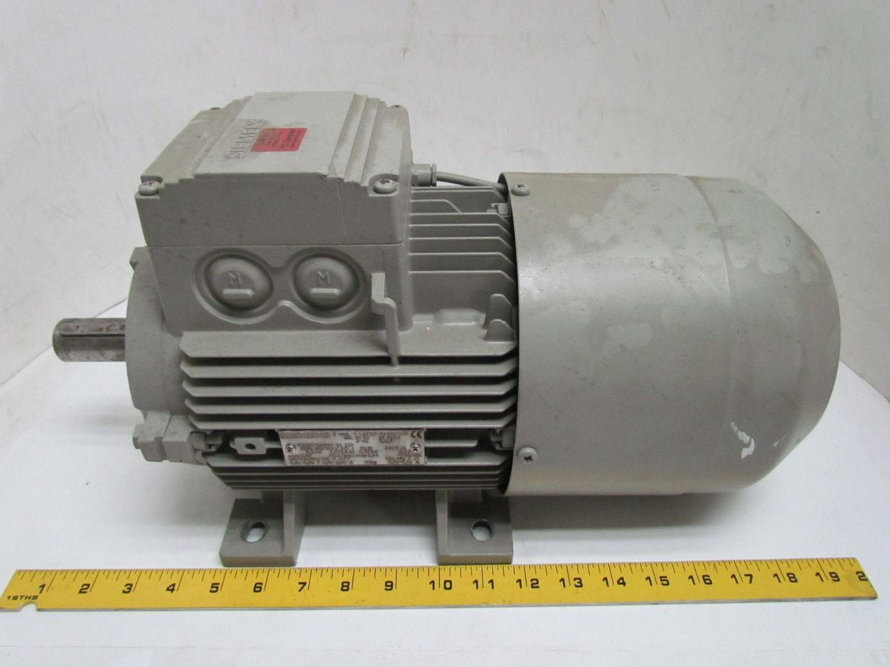 Siemens 1la71074aa60 z 4 6hp 1720rpm 3ph electric for 400 hp electric motor