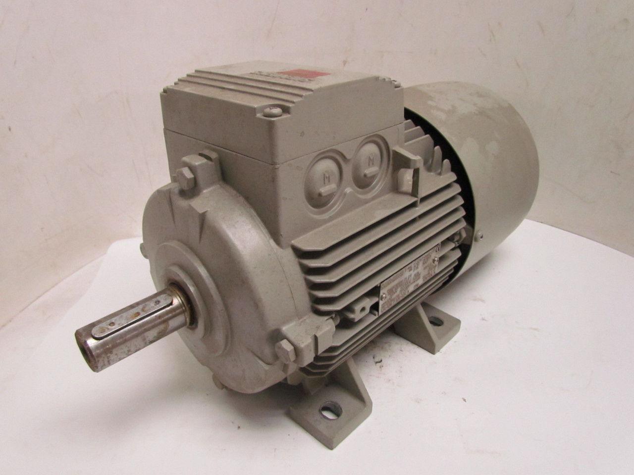 Siemens 1la71074aa60 Z 4 6hp 1720rpm 3ph Electric