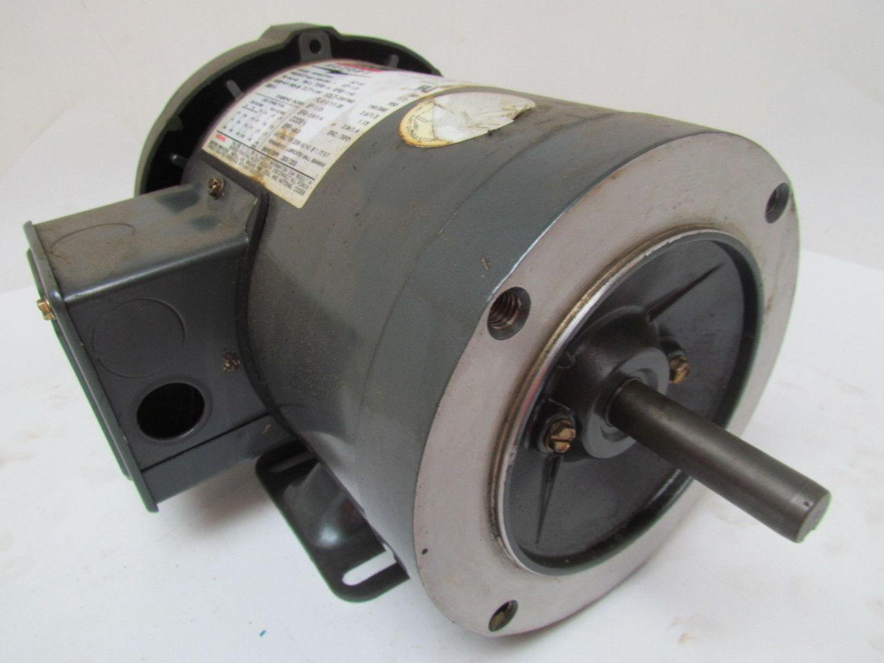 Lincoln 8rf680 5tc61 1 2 hp 1140 rpm 3 ph 230 460v 56c for 56c frame motor dimensions
