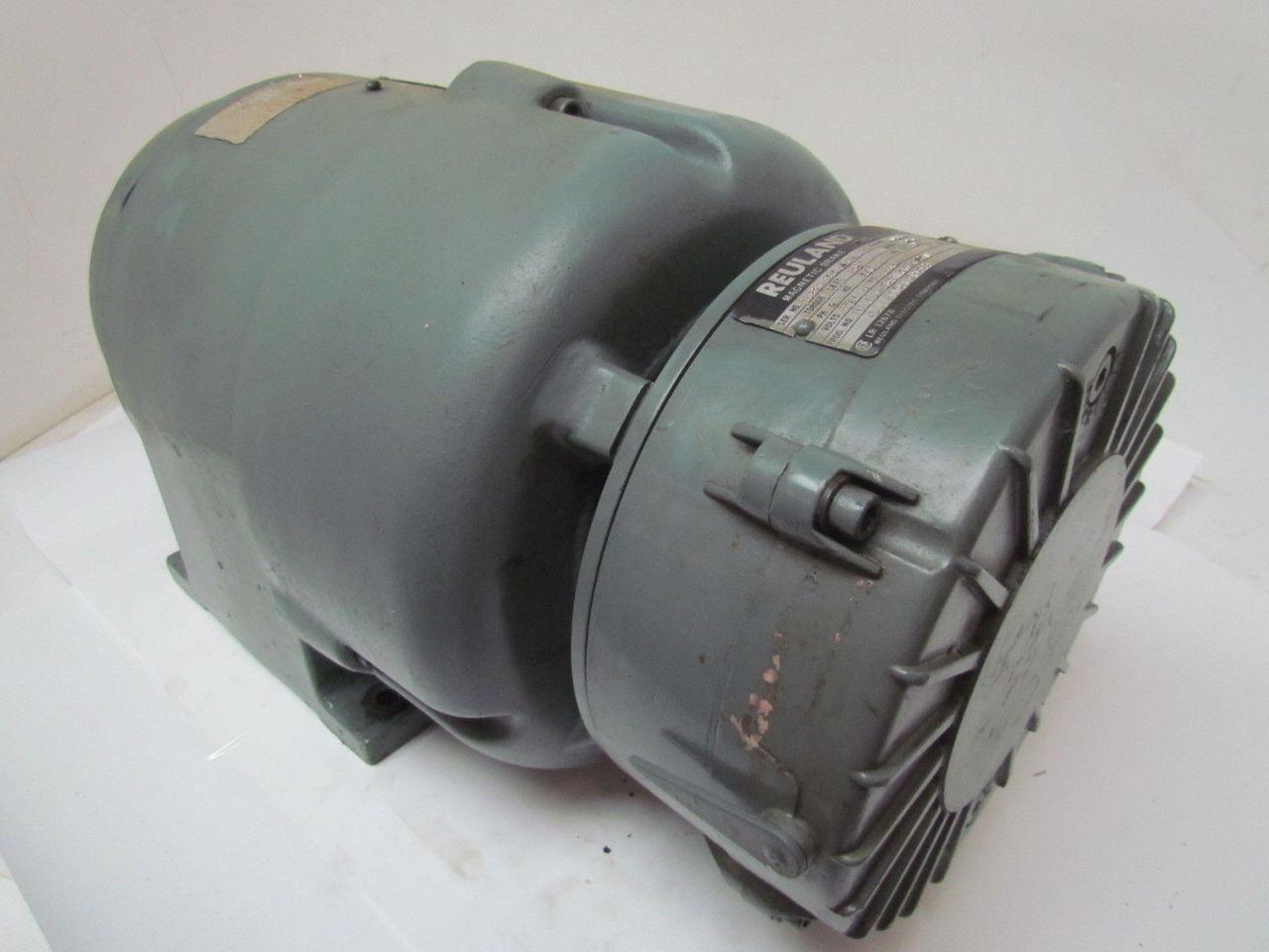 Reuland 3 Hp 3 Ph 1800 Rpm 230 460v Tefc Electric Motor W