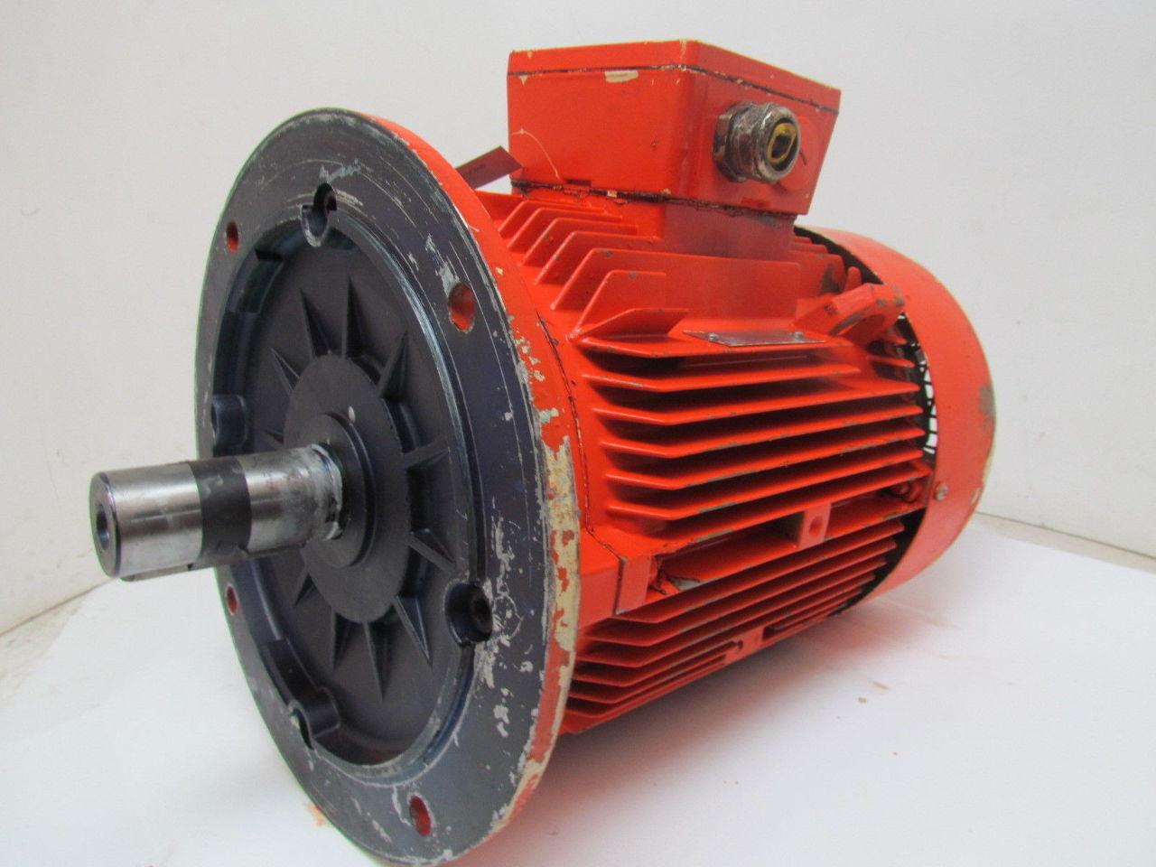 Siemens 1 la5134 6aa91 z 6 3 kw hp 1155 rpm 480v tefc for 1 kw dc motor