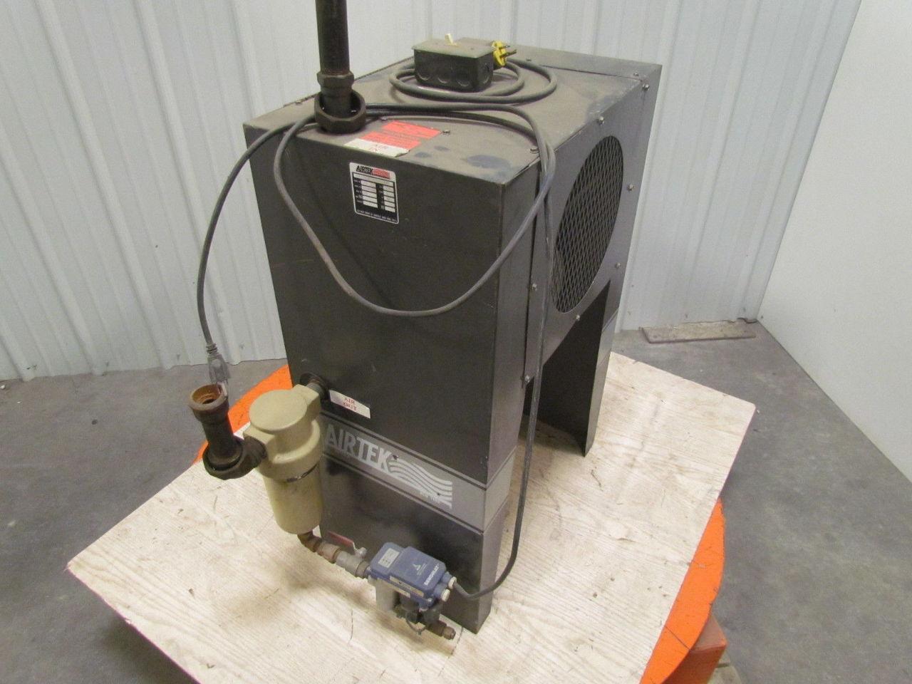 Air Compressor Cooler : Airtek compressed air cooled after cooler psi
