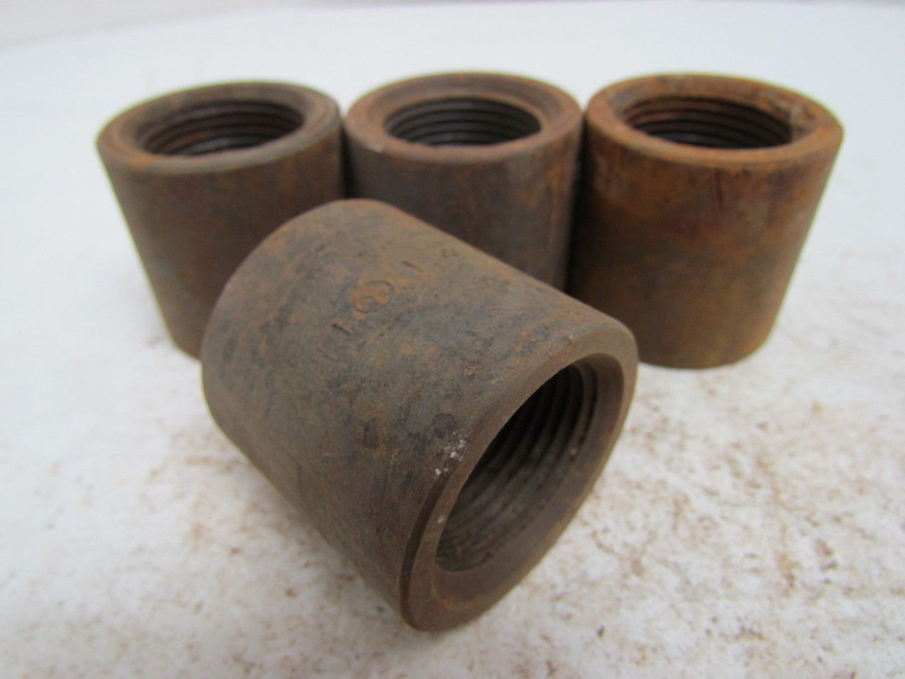 Quot npt black pipe cap class sch forged steel lot
