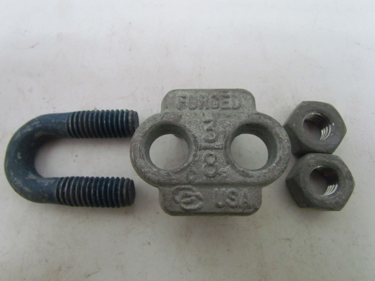 Campbell  quot wire rope clip u bolt cable clamp