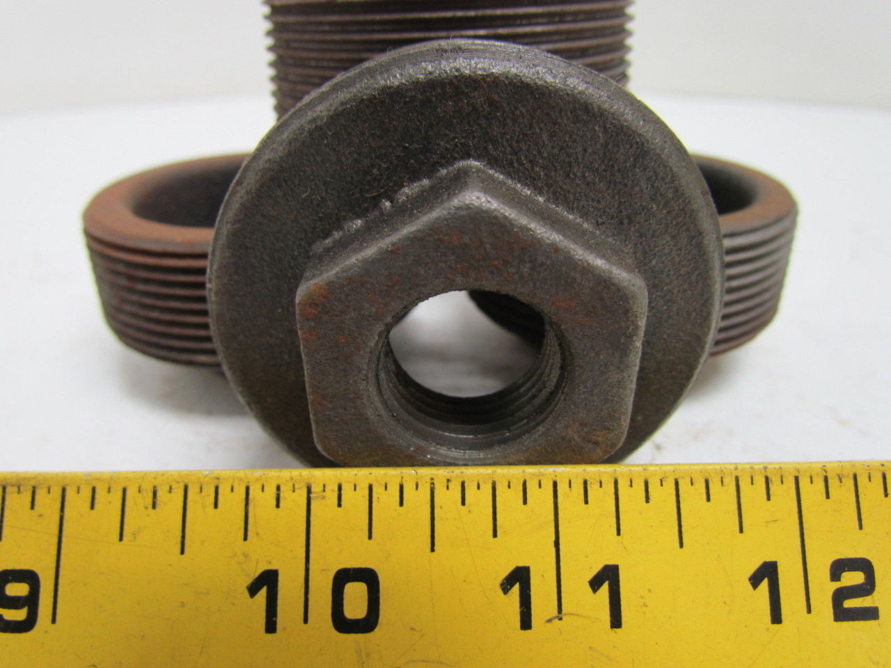 Hex bushing black pipe quot npt malleable iron reducer