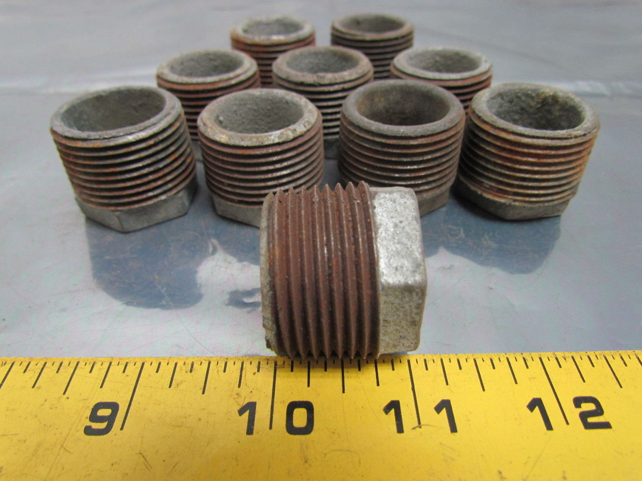 Hex bushing galvanized pipe reducer quot npt malleable