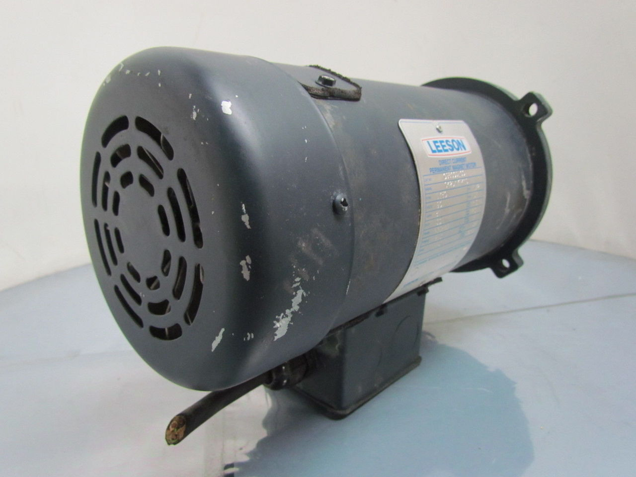 Leeson 1 2 Hp 1750 Rpm 90 V Direct Current