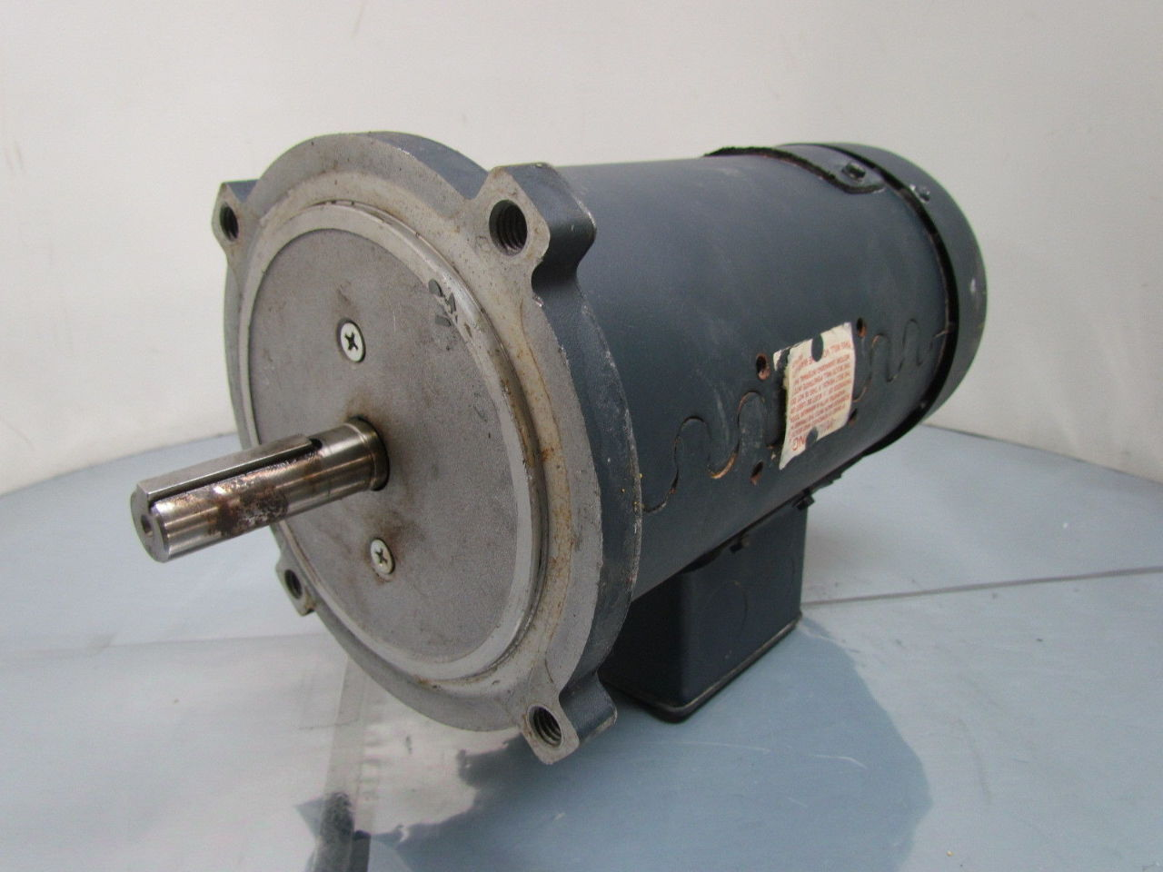 Leeson 1 2 hp 1750 rpm 90 v direct current for 2 hp motor current
