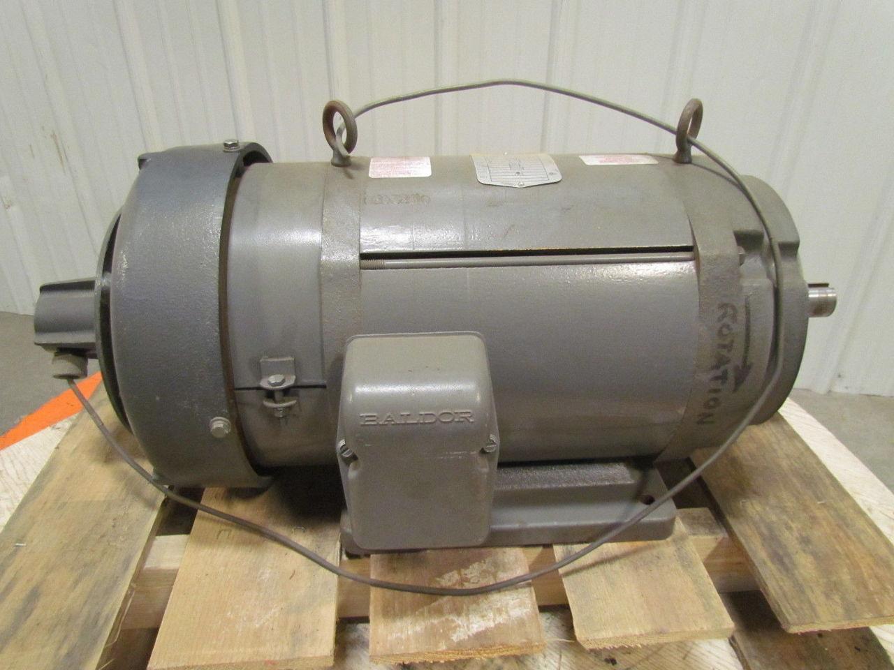 Baldor cd9105 5 hp 1750 rpm 180vdc tefc industrial direct for 5 hp tefc motor