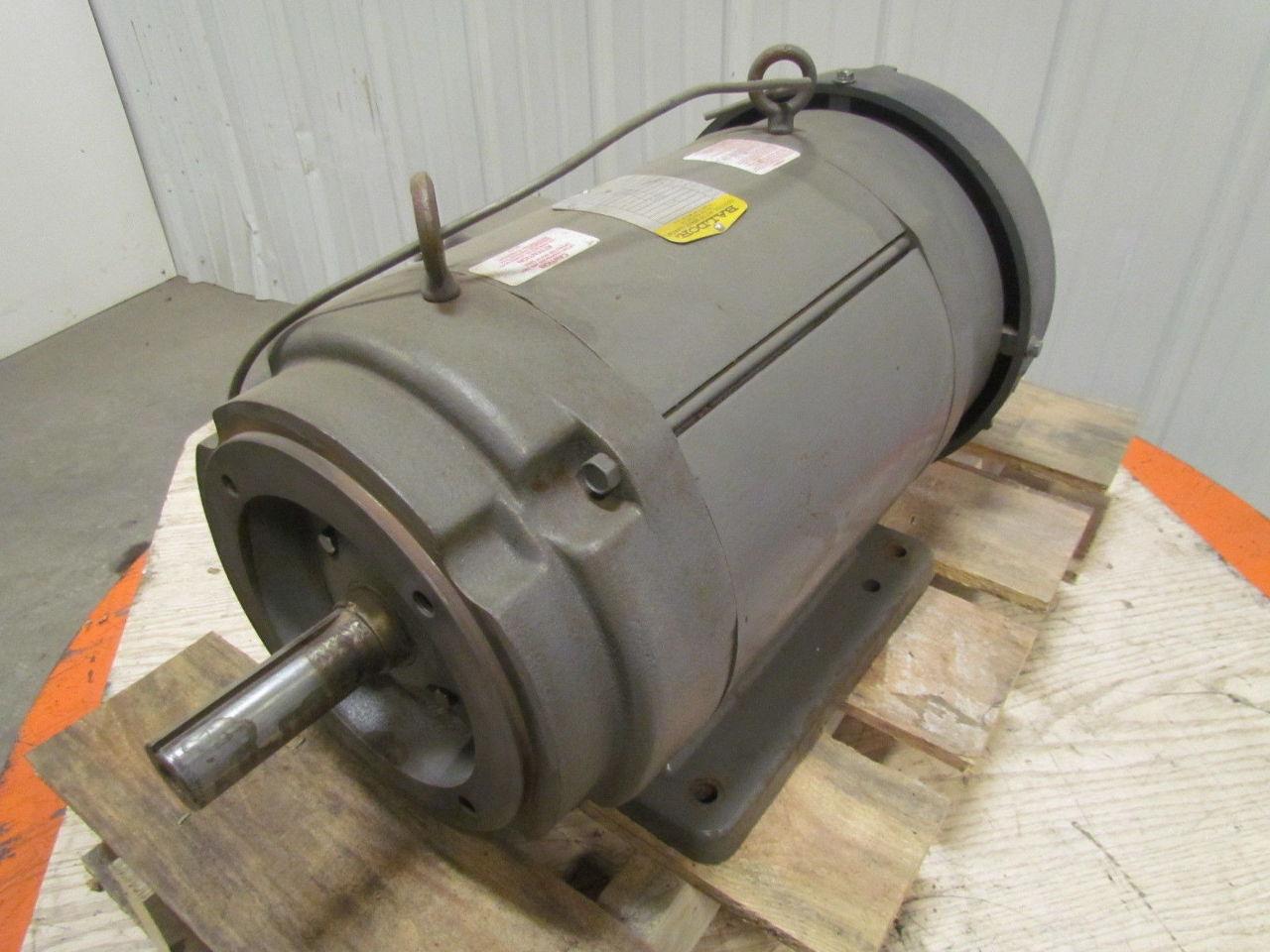 Baldor cd9105 5 hp 1750 rpm 180vdc tefc industrial direct for Motor baldor 20 hp