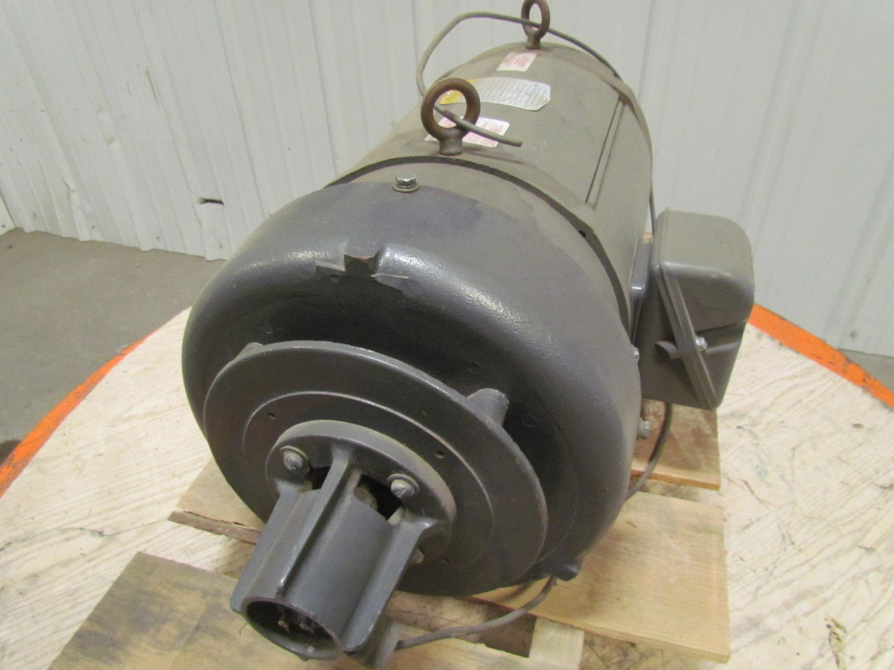 Baldor cd9105 5 hp 1750 rpm 180vdc tefc industrial direct for Used industrial electric motors