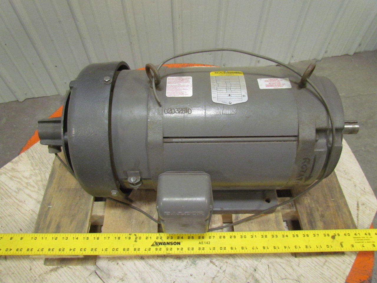 Baldor Cd9105 5 Hp 1750 Rpm 180vdc Tefc Industrial Direct