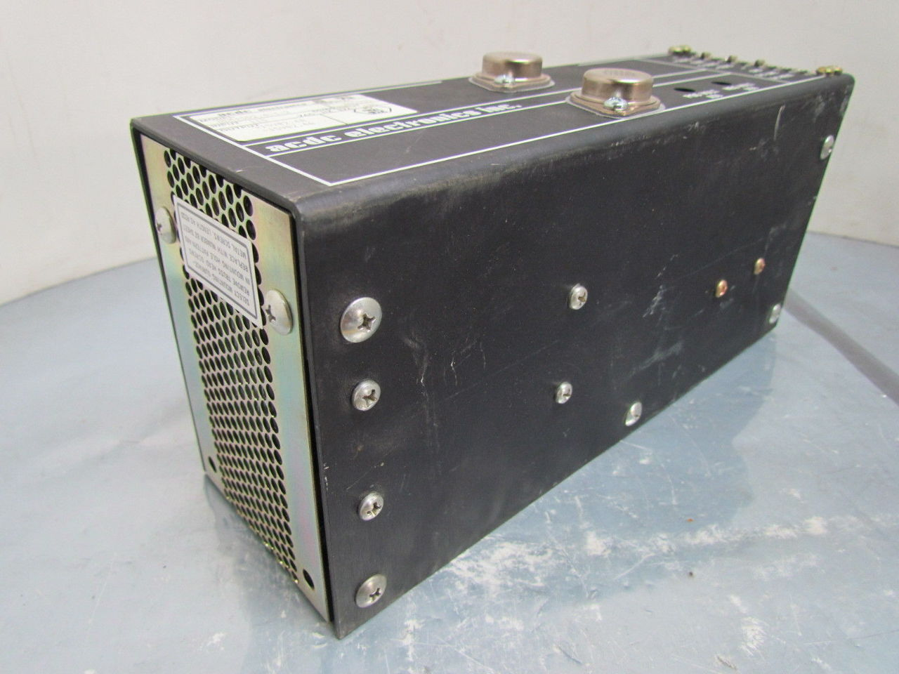 Electronic Equipment Supplies Amp Services : Acdc electronics oem d dc power supply volt