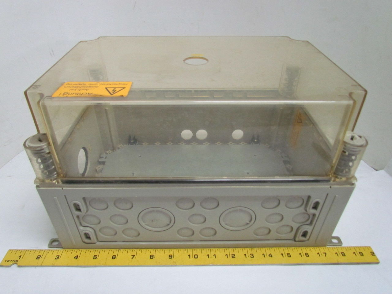 Metallic Electrical Boxes : Non metallic electrical enclosure box quot w backplate