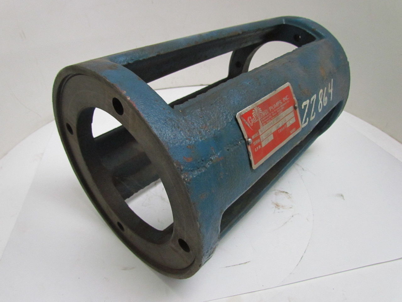 Gusher Cast Iron Pump Motor Coupling 13 1 2 Oal 182tc