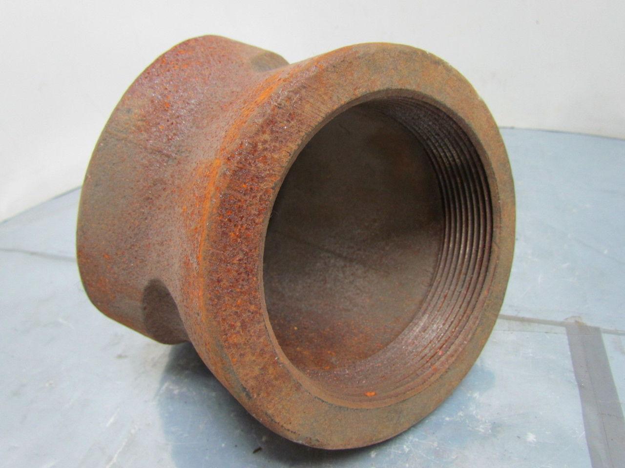 Stockham quot npt cast iron black pipe elbow deg class