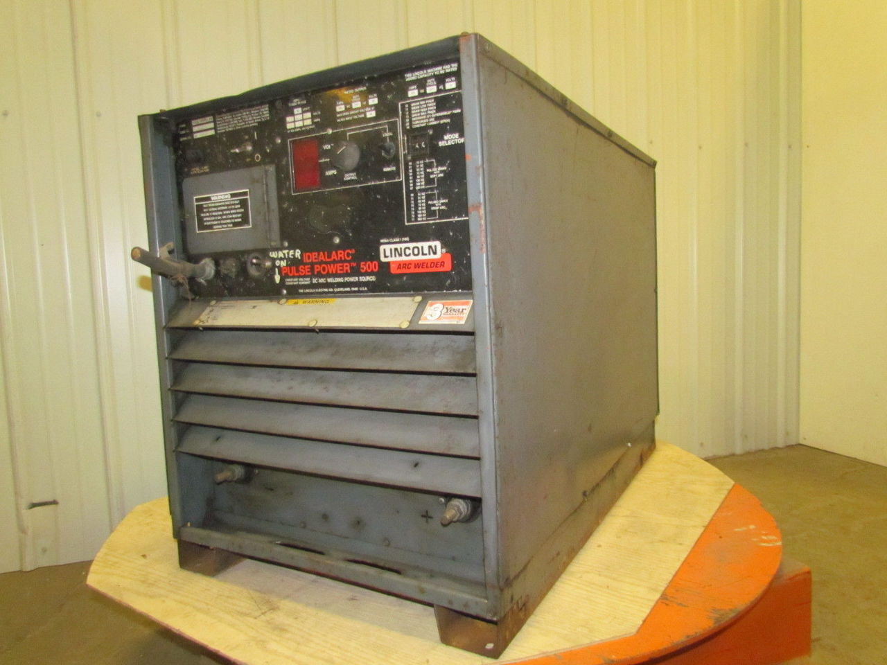 lincoln idealarc pulse power 500 dc arc welding 500 a amp