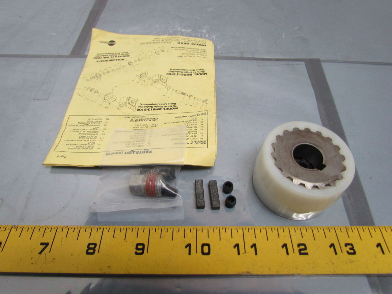 Grove Gear Motor Gearbox Shaft Coupling Coupler 5 8 Bore