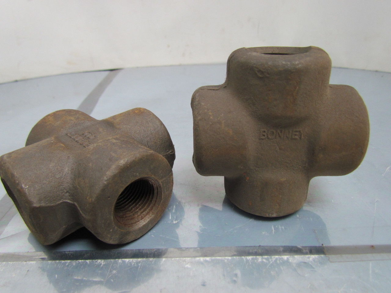 High Pressure Pipe : Quot npt forged steel class high pressure pipe cross
