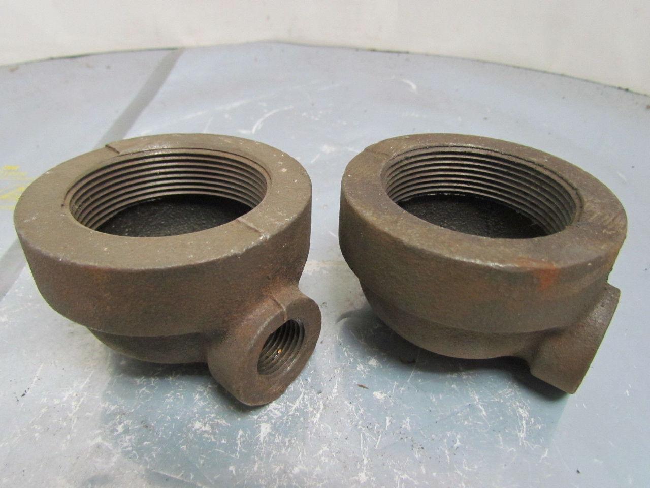 Quot npt cast iron black pipe reducing elbow class