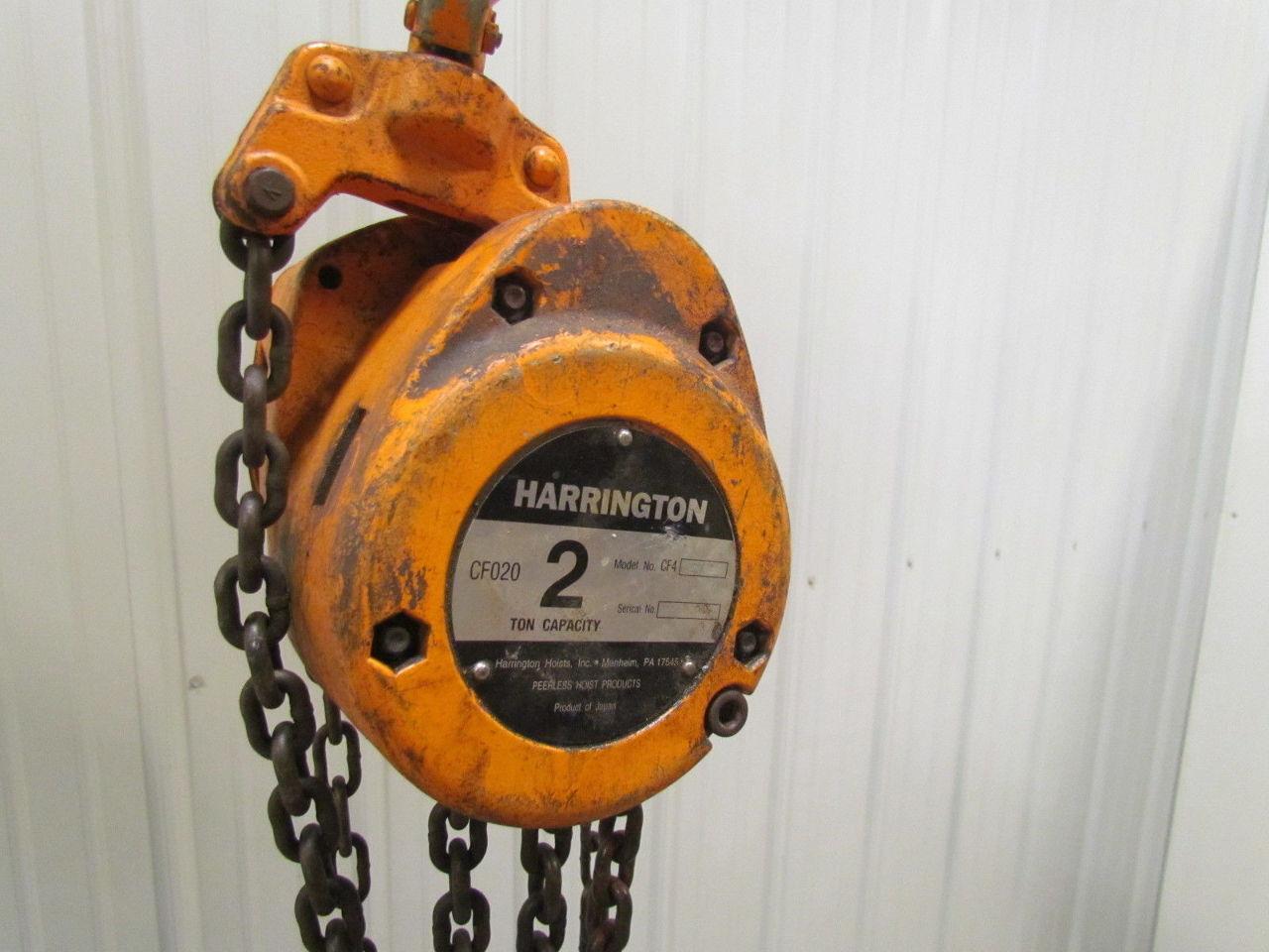 harrington 2 ton hoist manual