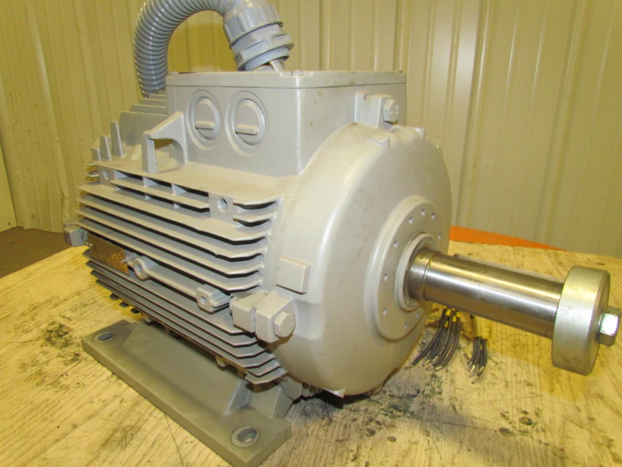 Siemens 1 la7169 2ba90 zt06 el ctrica ac motor 20 hp 15 kw for Electric motor 20 hp