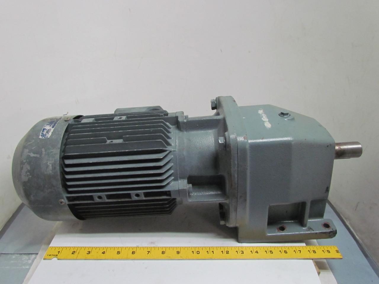 Nord Sk 100 L 40 4 Hp 3 Kw Electric Gear Drive Motor W