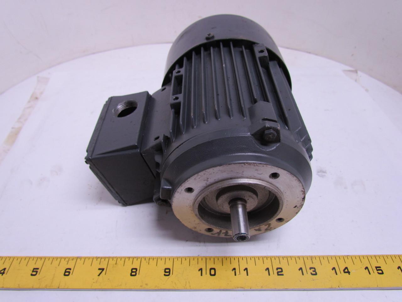 Siemens 2cw5 167 1 z d363 1892 01 iec 63 frame motor for Iec motor frame size