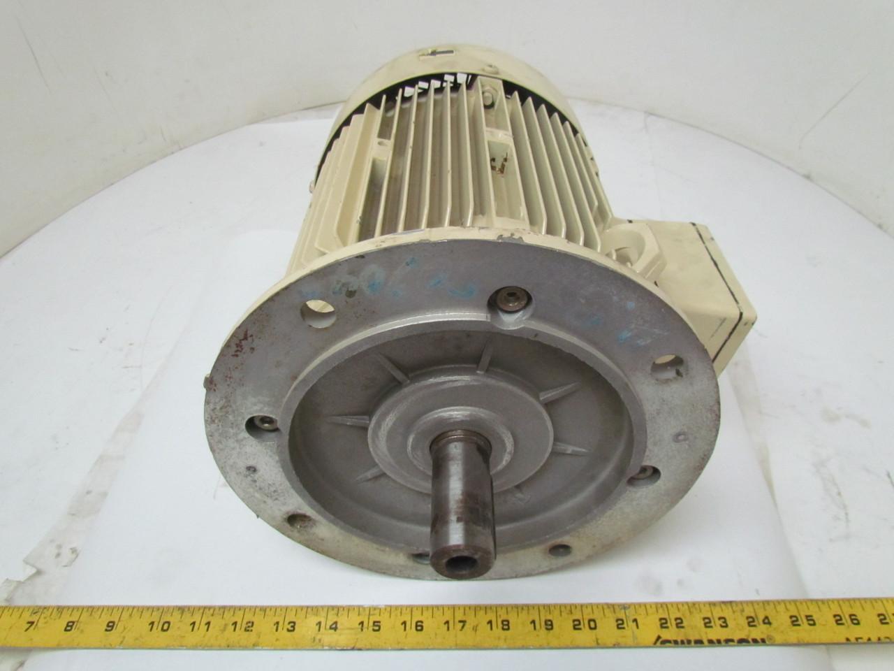 Siemens 4 6 kw tefc 480v 3490 rpm electric motor 112 frame for Iec motor frame size