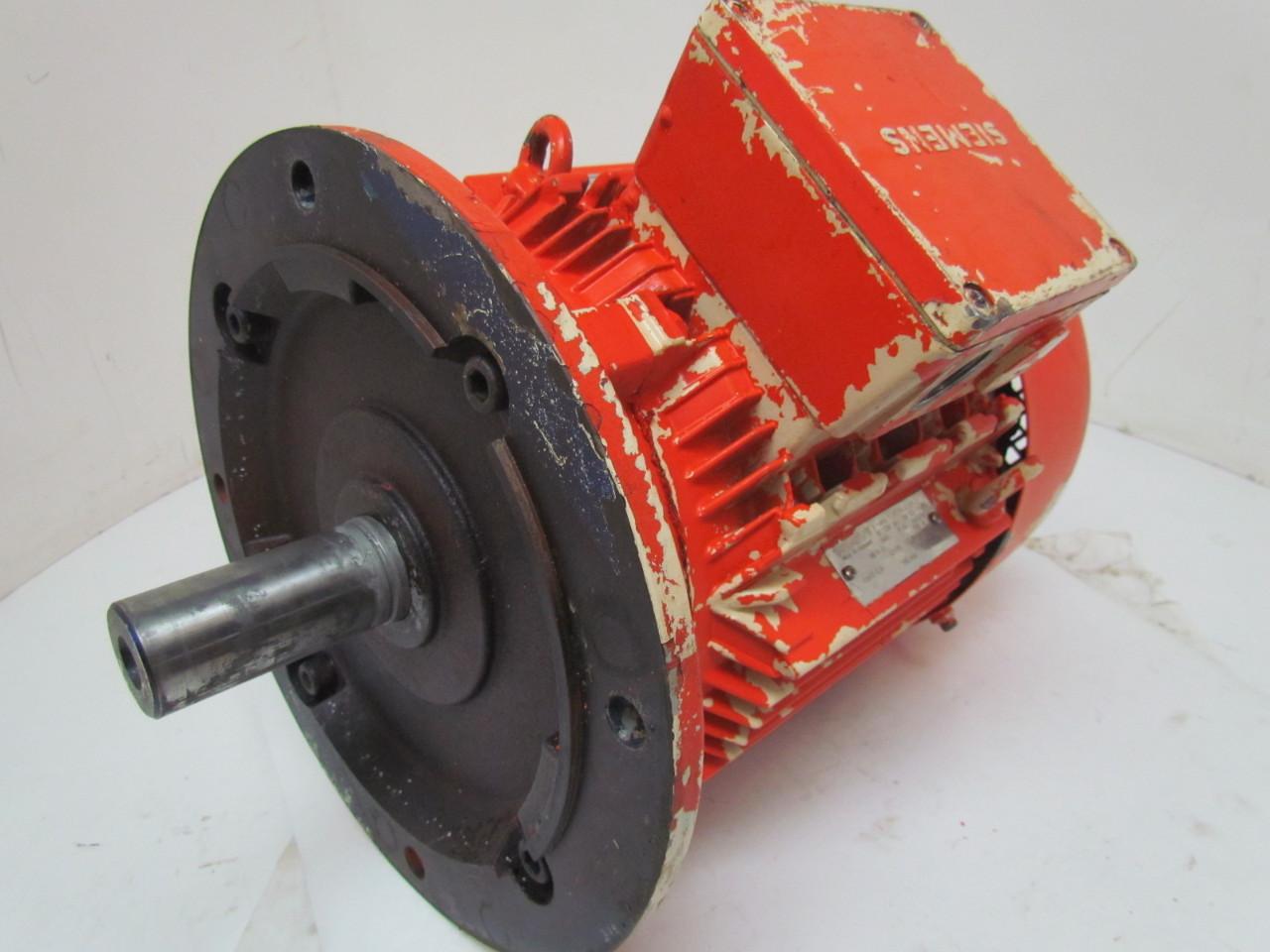 Siemens 6 3kw 1145rpm 480v Tefc Electric Motor 3ph